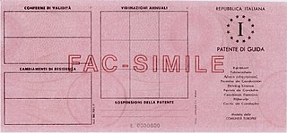320px Driver licence of Italy MC 701F back